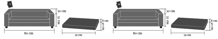 cover sofa size Armonia