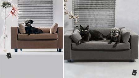 Sizes for covers pet sofa
