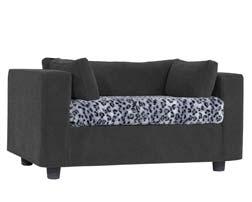 Original pet sofa grey - Plaid Lynx