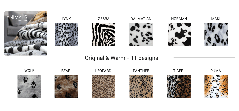 Pet plaid zebra, leopard, dalmatian,...